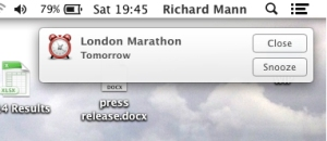 London Marathon Tomorrow
