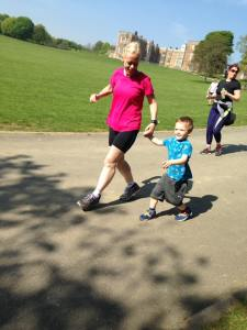 Brandon's first parkrun