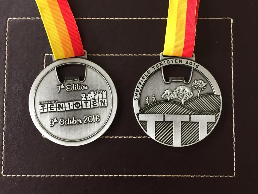 Ten 10 Ten Medal